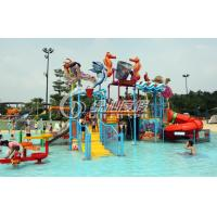 Wholesale Commercial Water Park Equipment Kids Water Playground For 50 Riders , Anti UV and Safety from china suppliers