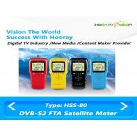 Wholesale RF Input Interface DVB S2 Digital Set Top Box Satellite Finder FTA LCD Monitoring from china suppliers