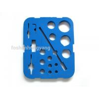 Wholesale Rectangle Blue Eva Foam Mats To Protect Glass Bottles , Matte Laminated from china suppliers