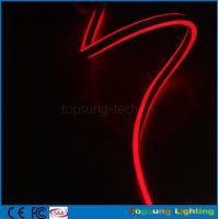 Wholesale pretty 12V double side emitting red led neon flexible strip with new design from china suppliers