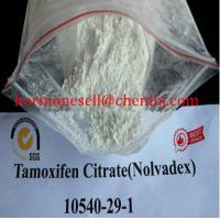 Wholesale Estrogen Antagonist Raw Hormone Powder Tamoxifen Citrate Nolvadex CAS 54965-24-1 from china suppliers