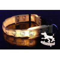 Hello kitty LED dog collar, for medium and small size dog