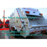 Quality White Sinotruck  Howo  4 x 2 8L 8-12m3 White Color Compacted Garbage truck for sale