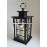 Quality Indoor and Outdoor Battery Operated Flameless Candle Lantern for sale
