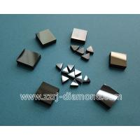 China mirror polishing surface PCD or PCBN cutting tool blank PCD or PCBN disc on sale