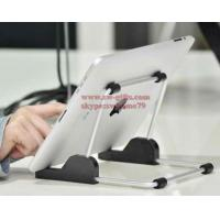 Wholesale For apple iPad stand Aluminum foldable universal tablet Stand,Holder for apple ipad stand for samsun tablet,tablet mount from china suppliers