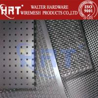 Wholesale Perforated hole steel plate from china suppliers