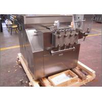 Wholesale New Condition Plate milk pasteurizer Homogenizing Machine 4000 L/H 600 bar from china suppliers