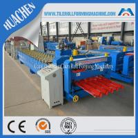 Wholesale Steel Villa Roof Glazed Tile Roll Forming Machine Blue Double Layer from china suppliers