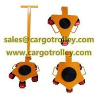 Buy cheap Rotating moving dolly applications and price list from wholesalers