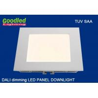 Wholesale 15W DALI Dimmable LED Flat Panel Lights , 1000LM Natural White Square LED Downlight from china suppliers