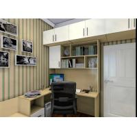 Wholesale Melamine Particle Board Hinged Door Wardrobes Custom Color With Blum Hardware from china suppliers