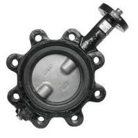 Wholesale OEM Ductile Iron Centerline Butterfly Valves , Lug Style Butterfly Valve from china suppliers