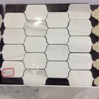 Wholesale White Marble Tile,Black Color Mosaic,Grey Marble Mosaic,Octagon Mosaic,Beige Marble Mosaic,Brick Design Mosaic from china suppliers