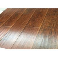 Buy cheap Hand Scraped DIY Distressed Laminate flooring Mahogany Wood AC4 U Bevel from wholesalers