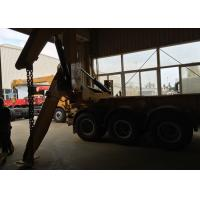 Quality 3 Axles Semi Trailer Container Side Loader For Lifting 20ft / 40ft Container for sale