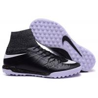 Wholesale Black Soccer Shoes Jul Nike HypervenomX Proximo Street TF Men's Turf Football Cleats from china suppliers