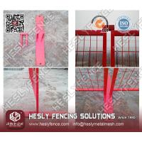 Buy cheap Portable Construction Fence from wholesalers
