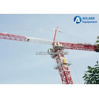 Wholesale Horizontal Jib Frame External Climbing Tower Crane 70 m Construction Lifting Equipment from china suppliers
