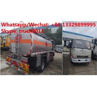 Wholesale Factory sale high quality and lower price JAC 4*2 LHD 5500L oil tanker fuel transport truck diesel tank truck from china suppliers