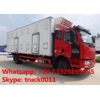 Wholesale FAW brand 40,000 day old chick transported truck for sale, factory sale best price FAW 4*2 LHD baby chick van truck from china suppliers