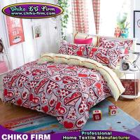Wholesale Home Textile Polyester Reactive Printing Heart Bedding Sets from china suppliers