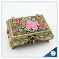 Wholesale Antique Metal Jewelry Gift Box for Sale from china suppliers