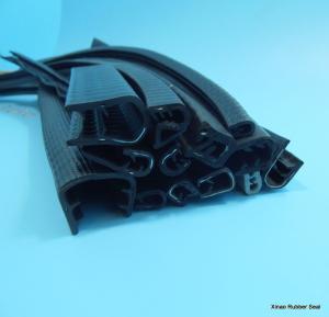 Quality u channel flexible pvc edge trim for sheet metal automotive pinch weld for sale
