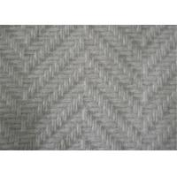 Wholesale 57/58 Inch Herringbone Tweed Fabric Anti Static With Skin Friendly Material from china suppliers