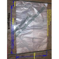 Wholesale stapled bag, plastic bag, packaging bags, storage bags, poly bags, packing bag, food bag from china suppliers