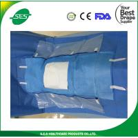 Wholesale Disposable sterile surgical laparoscopy drape with fluid pouch from china suppliers