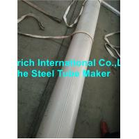 Quality Structural Seamless Stainless Steel Tube Cold Rolled ISO 9001 Certification for sale
