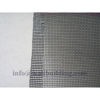 Quality black Epoxy-coated double edge Aluminum Alloy Window Screen for sale