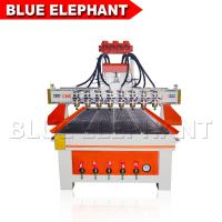 Wholesale Heavy Duty Wood Cutting Cnc Router Machine , Cnc 3d Wood Carving Machine DSP Control System from china suppliers