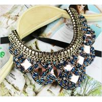 Wholesale TP-N1 Jewelry Rhinestone Bead statement necklace Jewelry Necklace for Costume from china suppliers