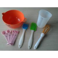 Wholesale 6pcs Heart Resist Silicone Baking Set / Silicon kitchenware Set For Kids from china suppliers