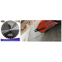 Buy cheap Customized Fast Speed 400mm Diamond Blade , Dry Cut Saw Blade High Efficiency from wholesalers