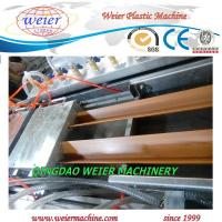 Wholesale Double Outlet WPC Profile Production Line Extrusion Line For Decking Edge Cover from china suppliers