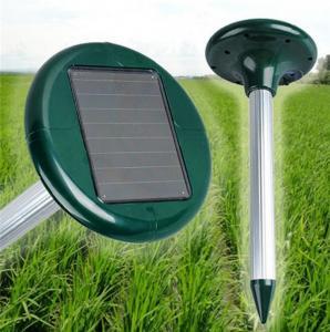 Quality Solar Powered Animal Repellent Ultrasonic Garden Dog Repeller Animal Chaser for sale