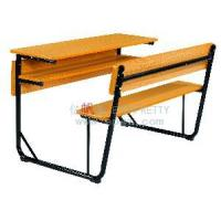 Wholesale School Double Desk and Chair (SF-08D) from china suppliers