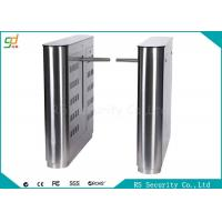 Wholesale Emergency Drop Arm Available Barrier Fashionable Pedestrian IR Sensor Turnstile from china suppliers
