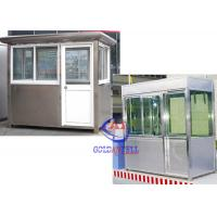 Wholesale Steel Panel Security Prefabricated sentry box shed for garden , beautiful from china suppliers