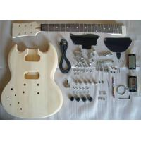 Wholesale Basswood SG Style DIY Electric Guitar Kits Semi - finished Electric Guitar AG-SG1 from china suppliers