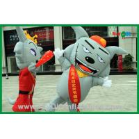 Wholesale Moving Inflatable Gray Wolf Inflatable Cartoon Characters For Advertising from china suppliers