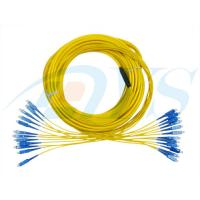Wholesale High Fiber Density Optical Fiber Patch Cord Single Mode 4 - 48 Cores Ribbon / Bundle Pigtail from china suppliers