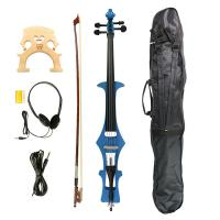 Wholesale 4/4 Electric Cello, Blue- Great Condition+Gig Bag & Cello Bow & Bridge & Rosin from china suppliers