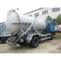 Wholesale dongfeng 170hp 7000L sewage suction truck for sales, septic tanker truck for exported from china suppliers