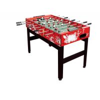 "Quality Solid MDF Colorful 48"" Foosball Table Wood Soccer Table With Chromed Steel Rod for sale"