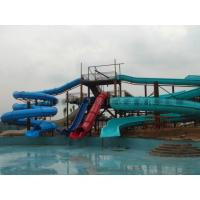 Wholesale Huge Spiral Water Slide Outdoor Water Amusement Park Equipment from china suppliers