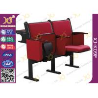 Wholesale Steel Leg Center Distance 520 mm High School Classroom Furniture Lecture Hall Chair from china suppliers